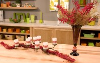 How to Create Centerpieces with Orchid Garlands!