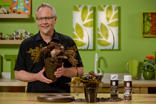 How to Create a Chocolate Brown Colored Arrangement!