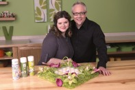 How to Create a Hydrangea Square Centerpiece with Calla Lilies and Orchids!