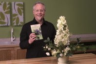 How to Make a Permanent Flower Topiary Tree!