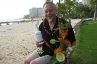 How to Make a Tropical Flower Arrangement in a Tiki Glass!