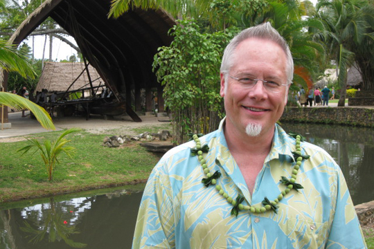 Tour the Polynesian Culture Center and Watch J make a Woven Fish Tonga Style!