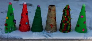 Jennifer Ackerman-Haywood's Wrapped Christmas Tree Decorations project