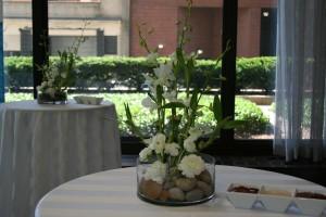 Wedding centerpieces done by Necoh Brewington-Mitchell