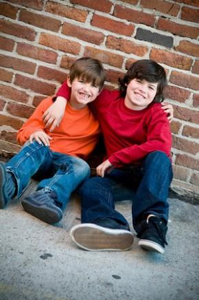Evan and Harrison