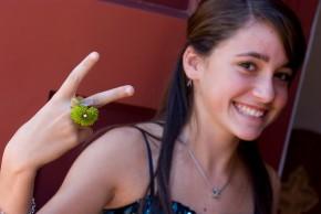 Flower ring Shannon Cosgrove-Rivas