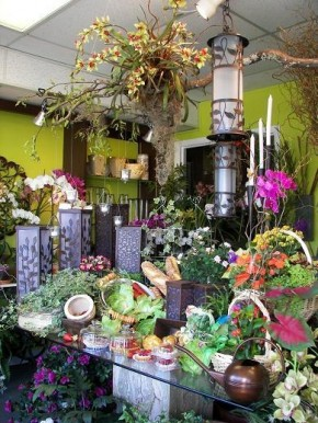 Inside of Apple Blossoms Tampa Florist