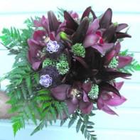 Cymbidium Bridal Bouquet project by Erik Witcraft