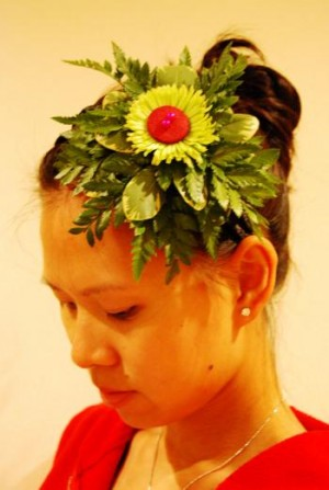 Fern-tastic Headpiece project by Tanti Lina