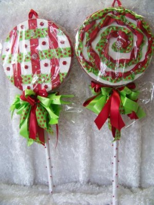 Holiday Lollies project by Cynthia P Ross