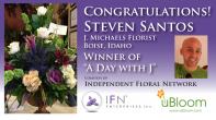 Club uBloom Member Steven Santos...IFN's Day with J Winner!