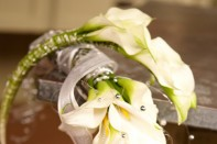 Fun with CA Grown Calla Lilies: Creating a Cascading Calla Lily Wedding Bouquet!