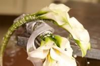 Fun with CA Grown Calla Lilies: Creating a Cascading Calla Lily Wedding Bouquet!