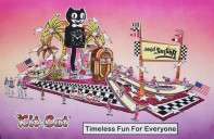 Kit-Cat Clock Rose Parade Float 2012 Rendering!