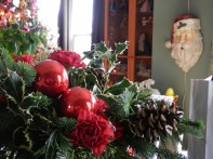 Christmas at My House... it's all about the Flowers!