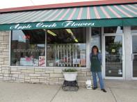Apple Creek Flowers and Owner Elizabeth Crisp!