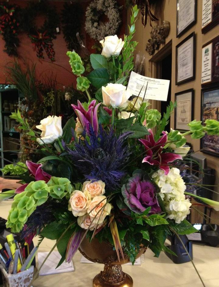 Day with j winner steven santos and michaels florist