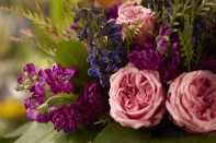 How to Create a Hand Tied Bouquet with David Austin Roses