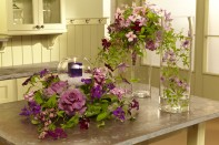 Roseville Farms Clematis Event Flowers on Fun with Flowers and J!