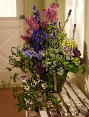 Fragrant Garden Style Design by J Schwanke
