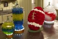 How to create Football Game Day Centerpieces