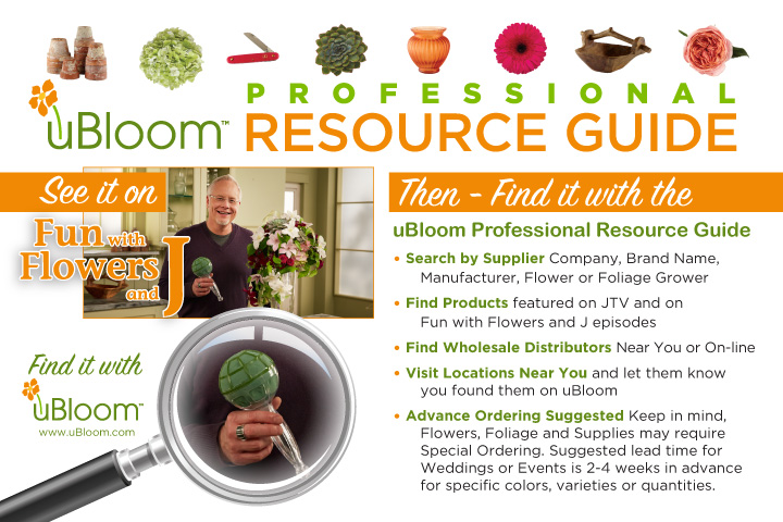 Simple to use... and EASY to Find Products you LOVE at nearby Wholesale Florists!