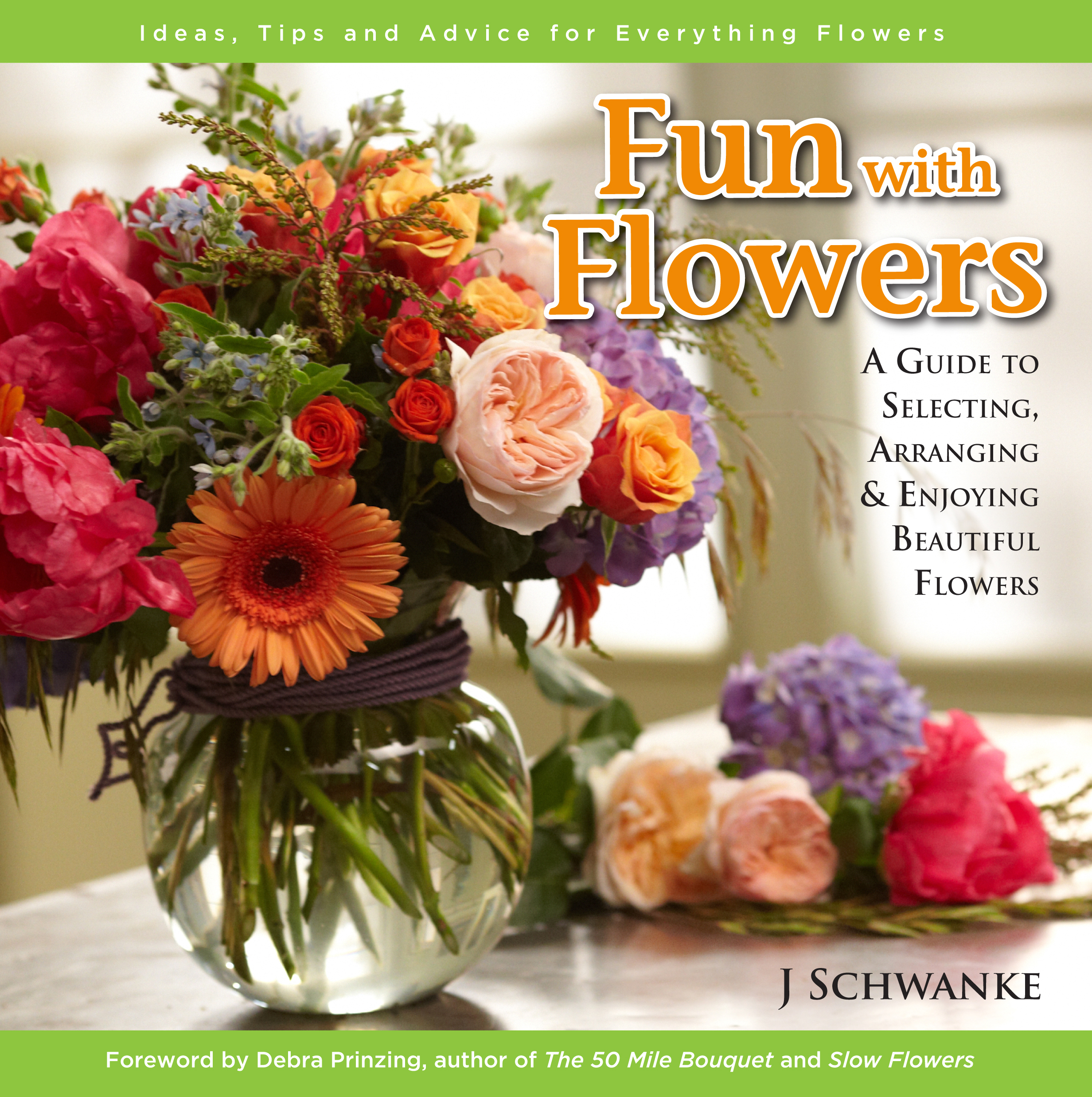 """Fun with Flowers"" Book Premiere… January 2014"