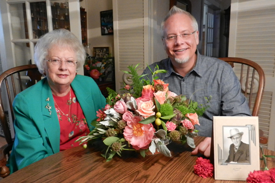 How to arrange flowers- J's Mom talks about the Flower Business