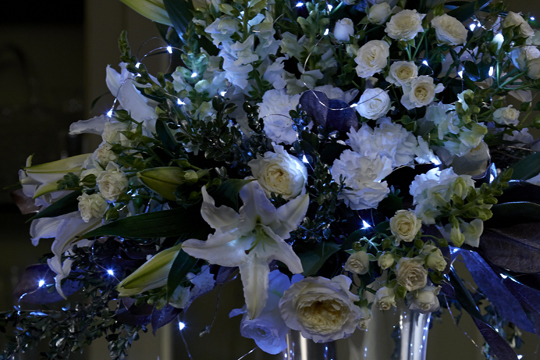 How to arrange flowers- Lighted Special Event Arrangements