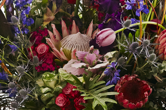 How to arrange flowers: Voyager Trend Concept