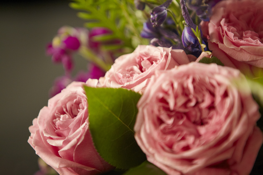 Survey says: Women prefer Pink-Peach or Orange over Red Roses... for Valentines day or any day!