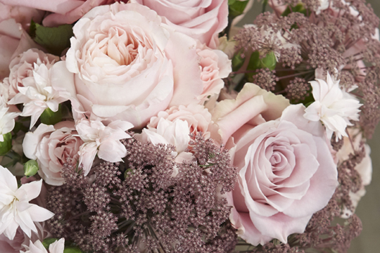 How to arrange flowers- Garden Rose Hand Bouquet