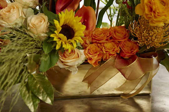 How to arrange flowers- The KARAT Trend Concept