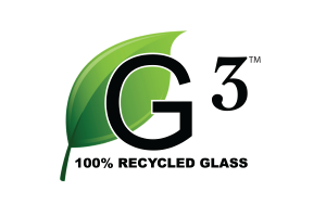 G-3 Post-Consumer Recycled Glass