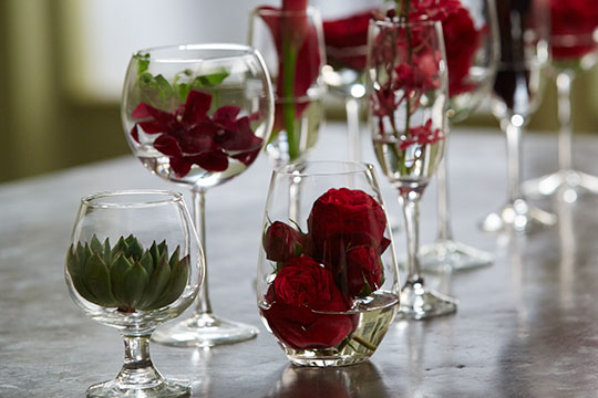How to Arrange Flowers_Wine Inspired Flowers for Entertaining!