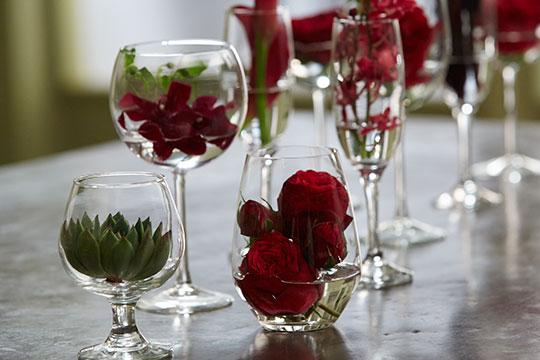 How to Arrange Flowers_Wine Inspired Flowers for Entertaining!