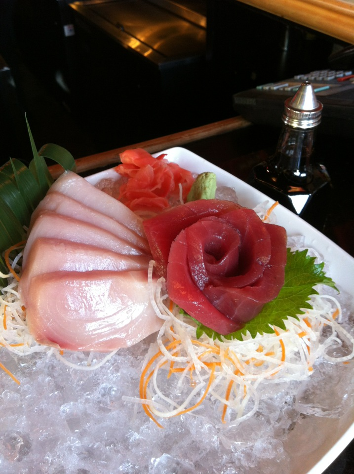 Ahi Tuna Roses- Delightful!