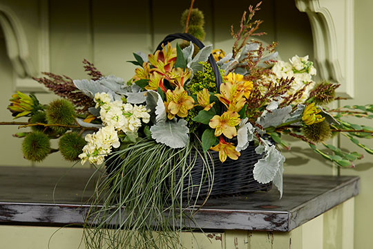 Everything flowers at