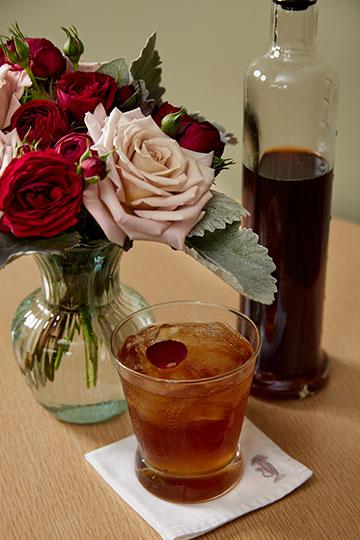 Rose Spritzer- #flowercocktailhour