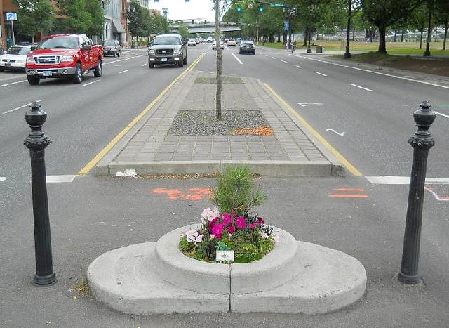 Portland boasts smallest park!