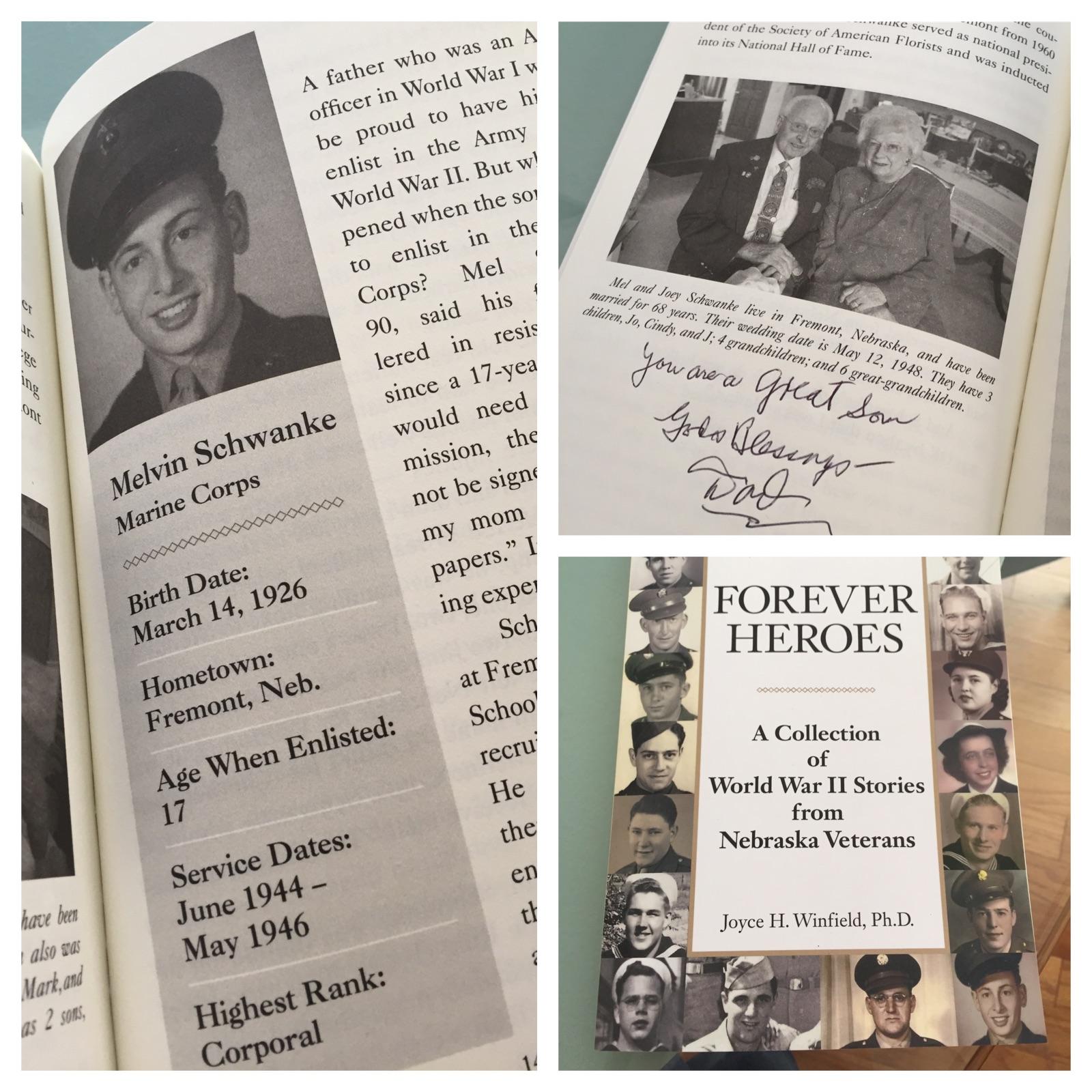 Mel Schwanke featured in Book!